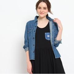 【クチュール ブローチ/Couture brooch】 Lee デニムワークシャツ [送料無料]