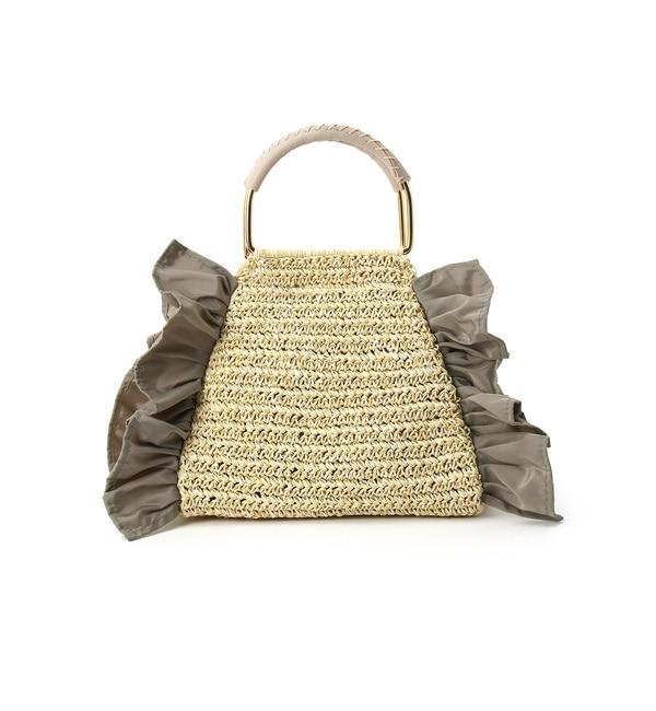 【クチュール ブローチ/Couture brooch】 【WEB限定販売】サイドフリルカゴバッグ [送料無料]