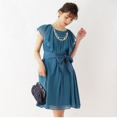【クチュール ブローチ/Couture brooch】 Dorry Doll リボンベルト×ネックレスシフォンワンピース [送料無料]