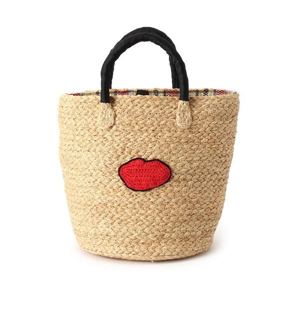 【クチュール ブローチ/Couture brooch】 【WEB限定販売】CASSELINI モチーフカゴバッグ