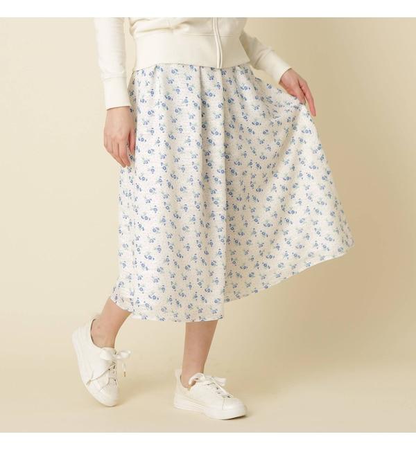 【クチュール ブローチ/Couture brooch】 小花ドットカットジャガード
