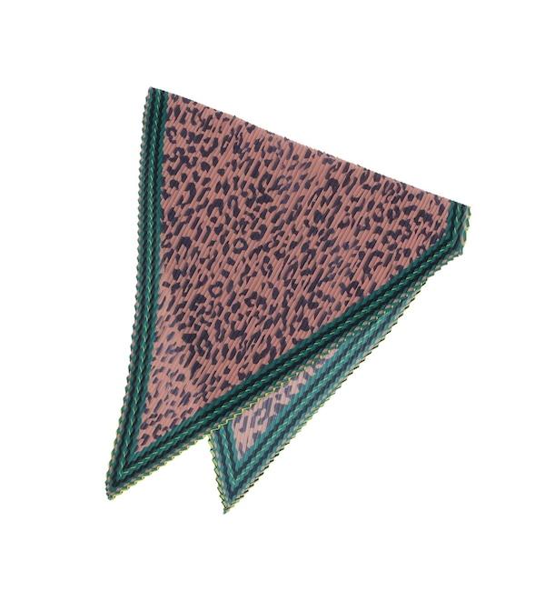 【クチュール ブローチ/Couture brooch】 【WEB限定販売】casselini(キャセリーニ)プリーツアニマルスカーフ