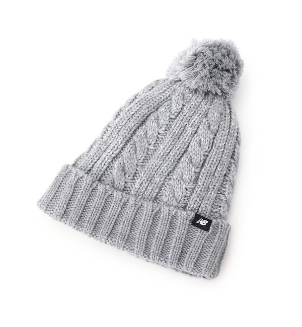 【クチュール ブローチ/Couture brooch】 【WEB限定販売】new balance(ニューバランス)ジャガード編みニット帽