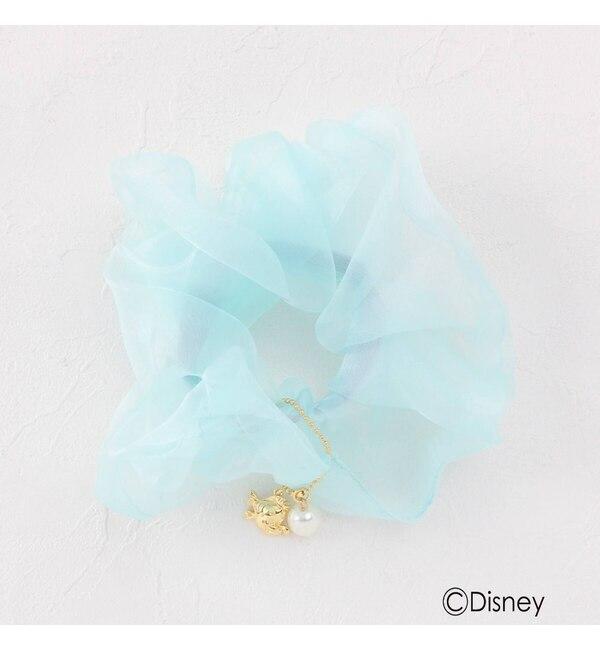 【クチュール ブローチ/Couture brooch】 ディズニープリンセス アリエル/オーガンジーシュシュ小