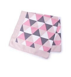 【ハッシュアッシュ/HusHusH】幾何学柄スカーフ[3000円(税込)以上で送料無料]