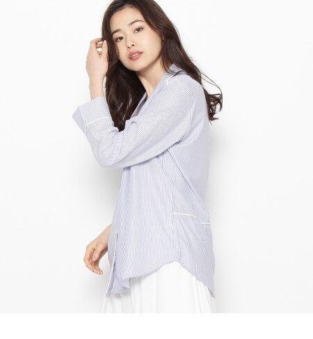 パイピングシャツ [3000円(税込)以上で送料無料]