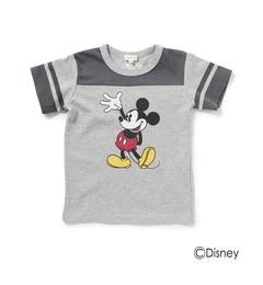 【ハッシュアッシュ/HusHusH】 半袖Tシャツ(ミッキーマウス) [3000円(税込)以上で送料無料]