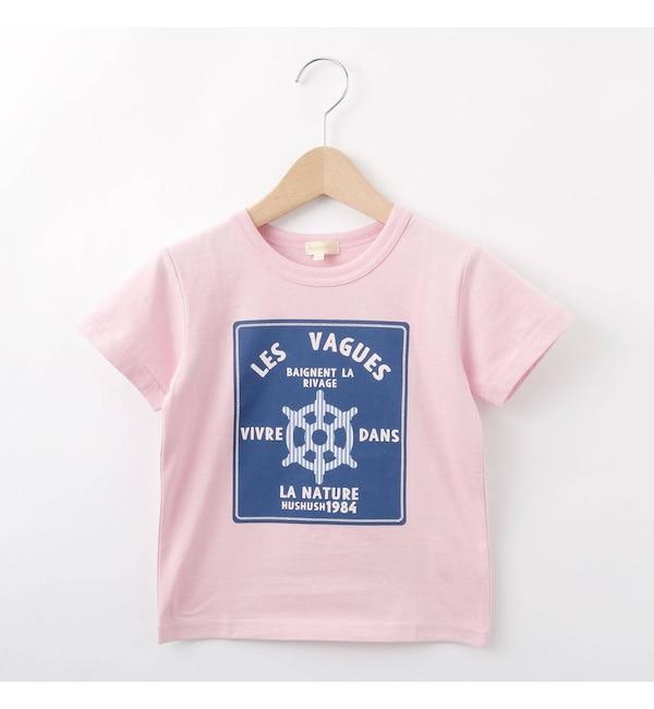 【ハッシュアッシュ/HusHusH】 【80-140cm】マリンテイストTシャツ
