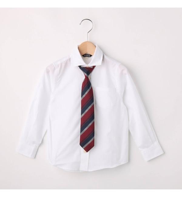 【ハッシュアッシュ/HusHusH】 【フォーマル・結婚式対応】ネクタイ付きシャツ