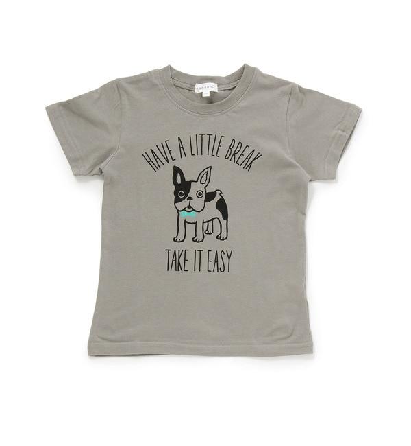 【サンカンシオン/3can4on】 天竺フレンチブルTシャツ [3000円(税込)以上で送料無料]