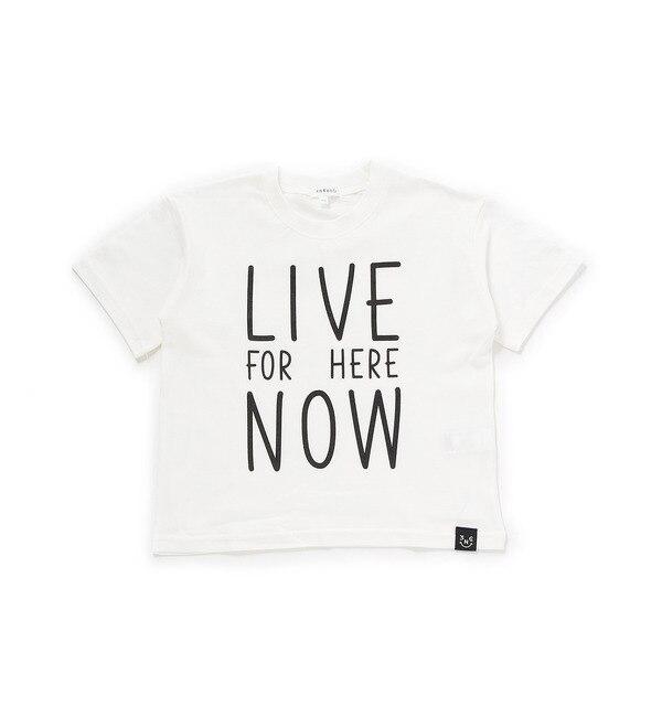 【サンカンシオン/3can4on】 天竺ビッグシルエットロゴTシャツ [3000円(税込)以上で送料無料]