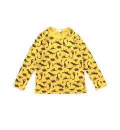 【サンカンシオン/3can4on】 総プリント長袖Tシャツ [3000円(税込)以上で送料無料]
