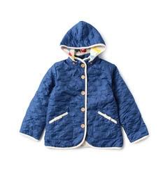 【サンカンシオン/3can4on】 ◆裏フリースキルティングフードつきジャケット [送料無料]
