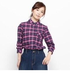 【サンカンシオン/3can4on】 ビエラチェックシャツ [3000円(税込)以上で送料無料]