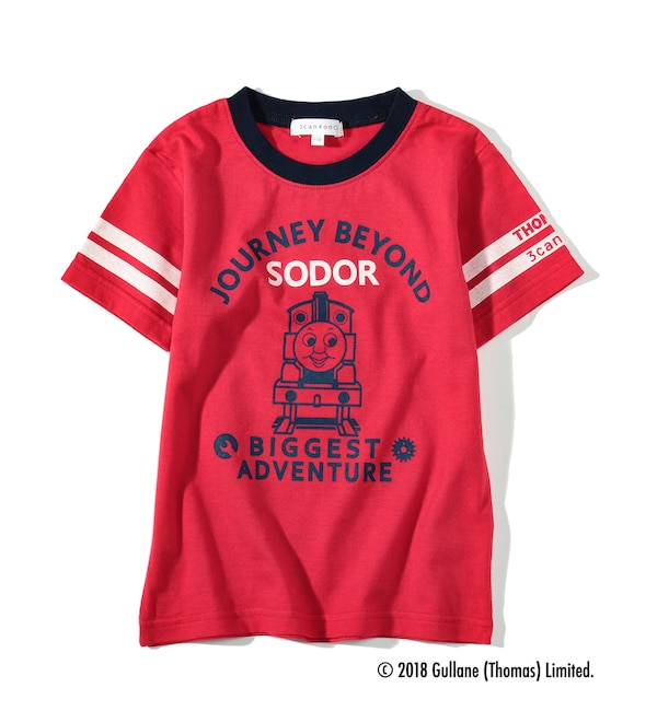 030b22018f335 きかんしゃトーマス・コラボTシャツ
