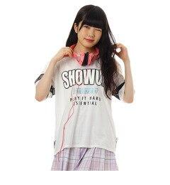 【ピンクラテ/PINK?Latte】 ロゴシフォンゆるTシャツ [3000円(税込)以上で送料無料]