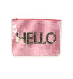 【ピンクラテ/PINK?Latte】 2WAYクリアロゴショルダーバッグ [3000円(税込)以上で送料無料]