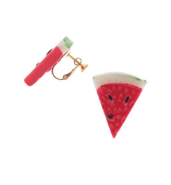 【ピンクラテ/PINK?Latte】 フルーツモチーフイヤリング [3000円(税込)以上で送料無料]