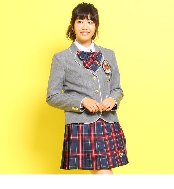 【ピンクラテ/PINK?Latte】 エンブレムパイピングジャケット [送料無料]