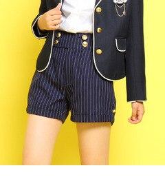 【ピンクラテ/PINK?Latte】 ハイウエストタックショートパンツ [3000円(税込)以上で送料無料]
