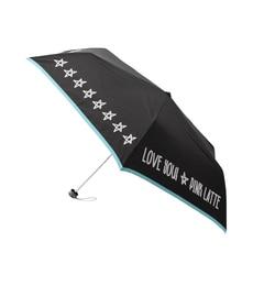 <アイルミネ> パイピングロゴ折りたたみ傘画像
