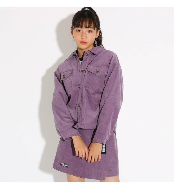【ピンクラテ/PINK-Latte】 ★ニコラ掲載★コーデュロイ ジャケット