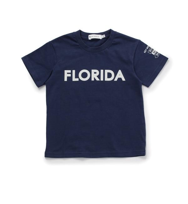 【ザ ショップ ティーケー/THE SHOP TK】 ◆FLORIDA コットンTシャツ [3000円(税込)以上で送料無料]