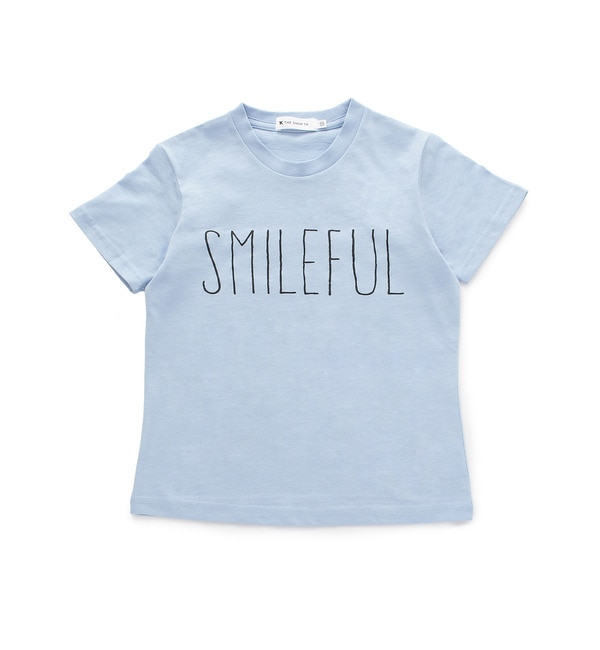 【ザ ショップ ティーケー/THE SHOP TK】 ◆SMILEFUL Tシャツ [3000円(税込)以上で送料無料]