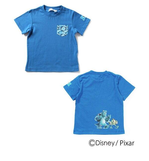 【ザ ショップ ティーケー/THE SHOP TK】 「Disney」「Disney/Pixar」キャラクターポケットTシャツ [3000円(税込)以上で送料無料]