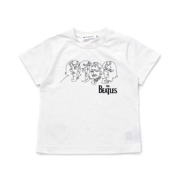 【ザ ショップ ティーケー/THE SHOP TK】 ◆ラフイラストTシャツ(THE BEATLES) [3000円(税込)以上で送料無料]