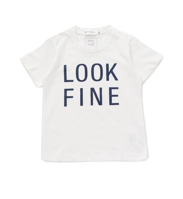 【ザ ショップ ティーケー/THE SHOP TK】 ◆LOOK FINEプリントTシャツ [3000円(税込)以上で送料無料]