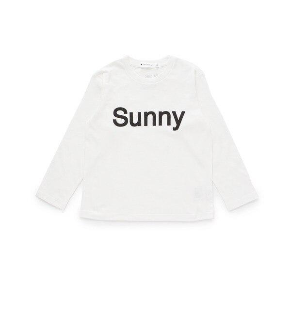 【ザ ショップ ティーケー/THE SHOP TK】 SunnyロゴロングTシャツ [3000円(税込)以上で送料無料]