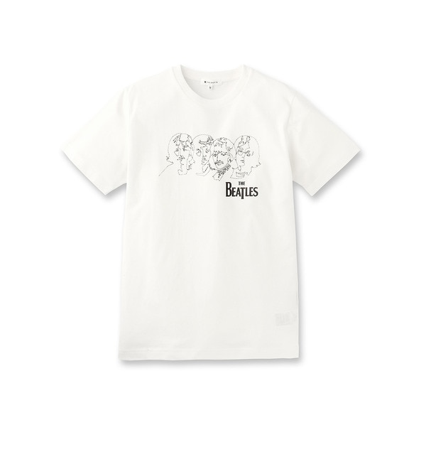 【ザ ショップ ティーケー/THE SHOP TK】 THE BEATLESコラボTシャツ [3000円(税込)以上で送料無料]