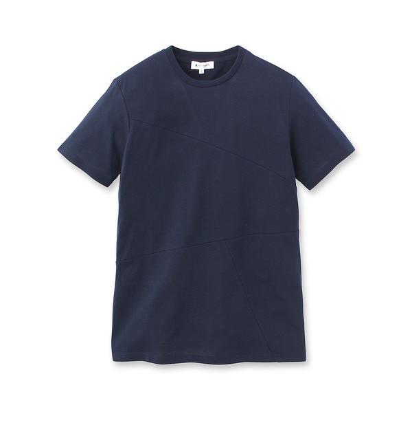 【ザ ショップ ティーケー/THE SHOP TK】 無地切替Tシャツ [3000円(税込)以上で送料無料]