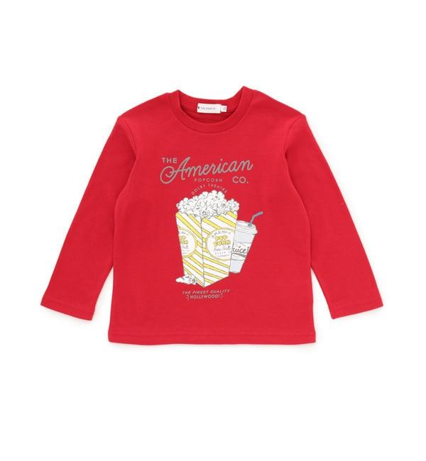 【ザ ショップ ティーケー/THE SHOP TK】 ポップコーン長袖Tシャツ [3000円(税込)以上で送料無料]