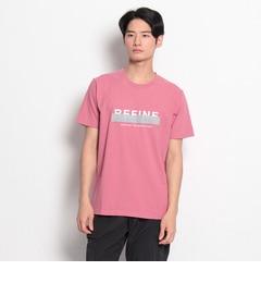 【ザ ショップ ティーケー/THE SHOP TK】 リファインロゴTシャツ [3000円(税込)以上で送料無料]