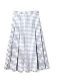 【ジルスチュアート/JILLSTUART】 [TVドラマ着用]ギンガムプリーツスカート [送料無料]