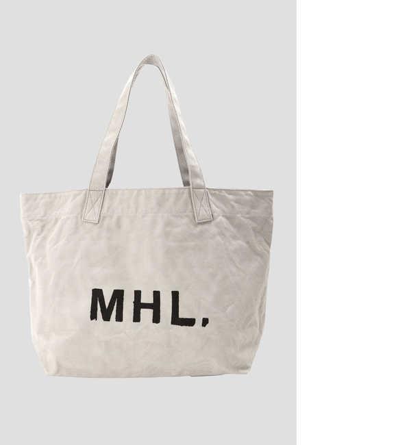 ファッションメンズなら|【エムエイチエル/MHL.】 HEAVY COTTON CANVAS(オンラインストア限定)