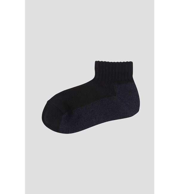 【エムエイチエル/MHL.】 MELANGE SHORT SOCK