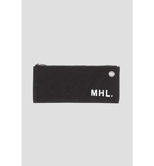 【エムエイチエル/MHL.】 COATING COTTON CANVAS(MHL SHOP限定)