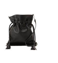 【ナチュラルビューティーベーシック/NATURAL BEAUTY BASIC】 スウェードフリンジ巾着バッグ [送料無料]