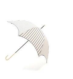 【ナチュラルビューティーベーシック/NATURALBEAUTYBASIC】ダブルストライプ長傘[3000円(税込)以上で送料無料]