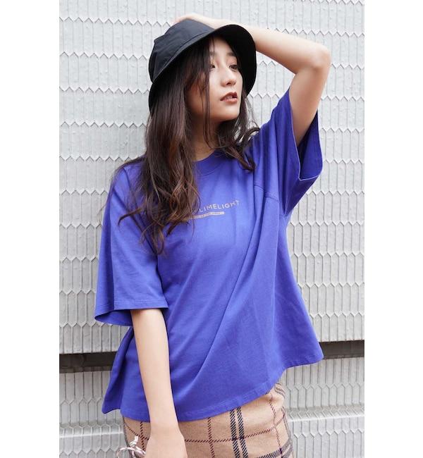 【フリーズマート/Free's Mart】 ラグラン2段ロゴTシャツ