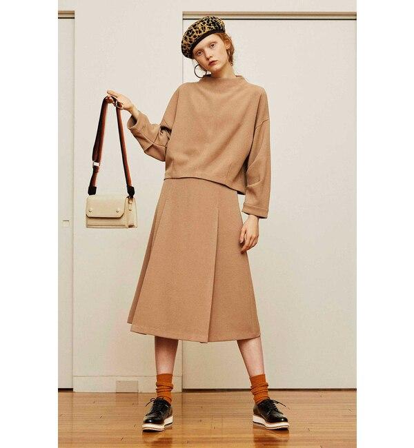 【フリーズマート/Free's Mart】 ◆ダブルジョーゼットノーシームフレアースカート