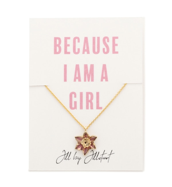 【ジル バイ ジルスチュアート/JILL by JILLSTUART】 ≪チャリティー≫For All Girlsペンダント