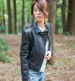 【goa/goa】 ラムレザー ダブルライダースジャケット [送料無料]
