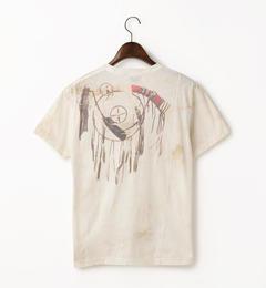 【goa/goa】 ムラ染ドリームキャッチャーインクジェットTシャツ [送料無料]