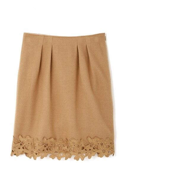 【プロポーションボディドレッシング/PROPORTION BODY DRESSING】 Fluffy embroideryスカート [送料無料]