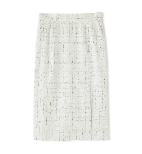 ジャガードジャージセットアップスカート