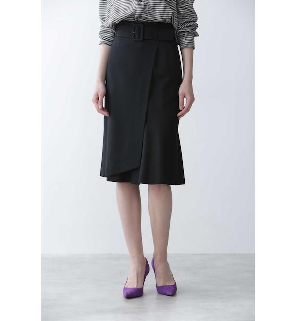 【ピンキーアンドダイアン/PINKY&DIANNE】 アシンメトリーマーメイドスカート